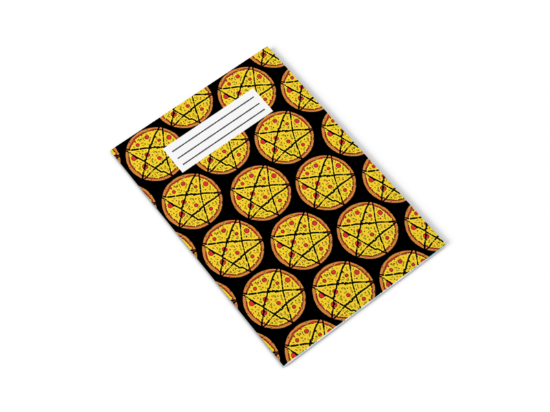 Pentagram Pizza Notepad - product images  of