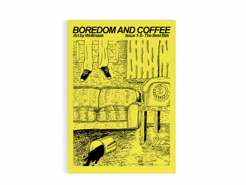 Boredom and Coffee 1-5 Best Bits Zine - product images  of