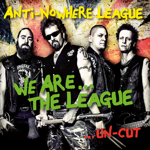 We,are,The,League,-,Un-Cut,CD,Music, CD, Punk, Anti Nowhere League, Rock, Metal
