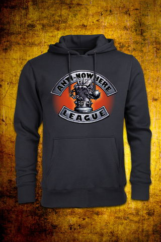 Iron,Fist,Non,Zip,Hoodie, Punk, Anti Nowhere League, Rock, Metal