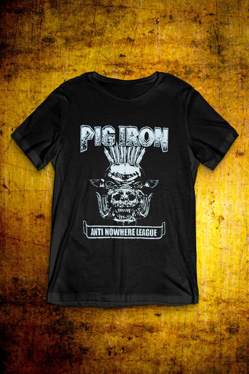 Pig Iron - Black T Shirt - Mens - product image