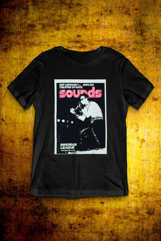 Sounds,Cover,-,Standing,on,Stage,T,Shirt,T Shirt, Punk, Anti Nowhere League, Rock, Metal
