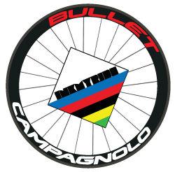 Campagnolo Bullet Wheel Decals - InkMyRide
