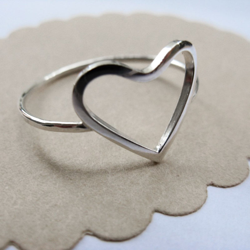 Open Heart Ring - product images  of