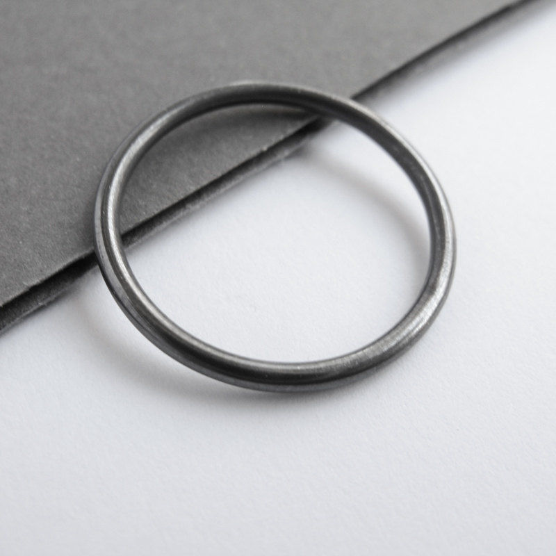 Simple Hammered Ring - product images  of