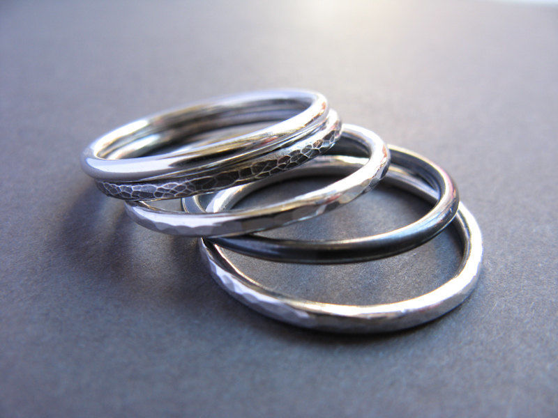 Three Mix Stacking Rings - product images  of