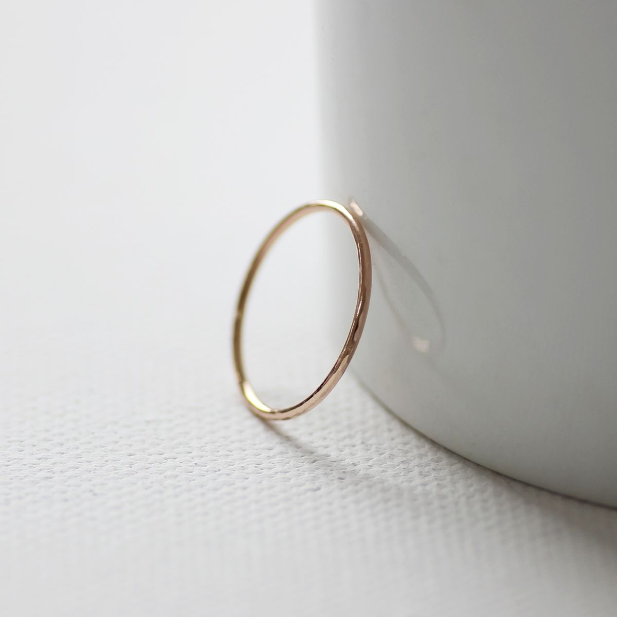 9ct Rose Gold Slim Ring - product images  of