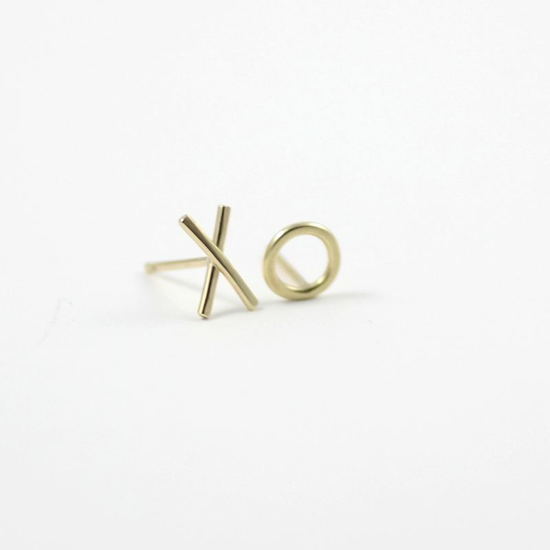 XO sterling silver Studs - product images  of