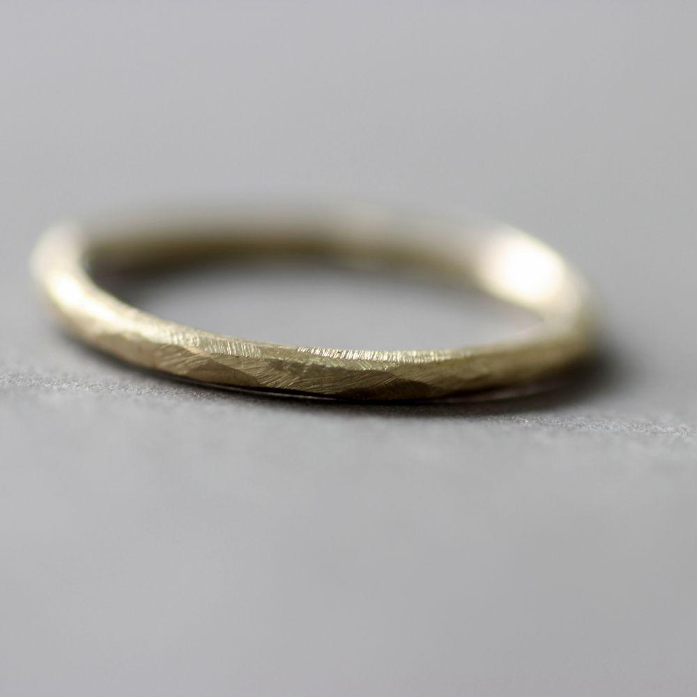 Hammered White Gold Wedding Band 79 Epic ct Gold Slim Wedding