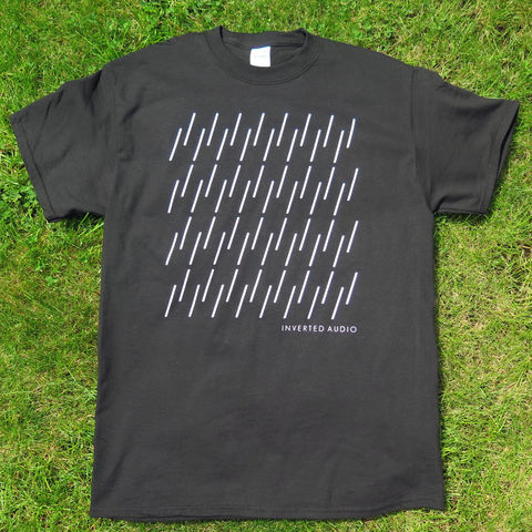 Inverted,Audio,-,Black,T-Shirt,Inverted Audio, Inverted Audio T Shirt, Minimal, Electronic Music, Techno, T-Shirt, Silk Screen, Waveform