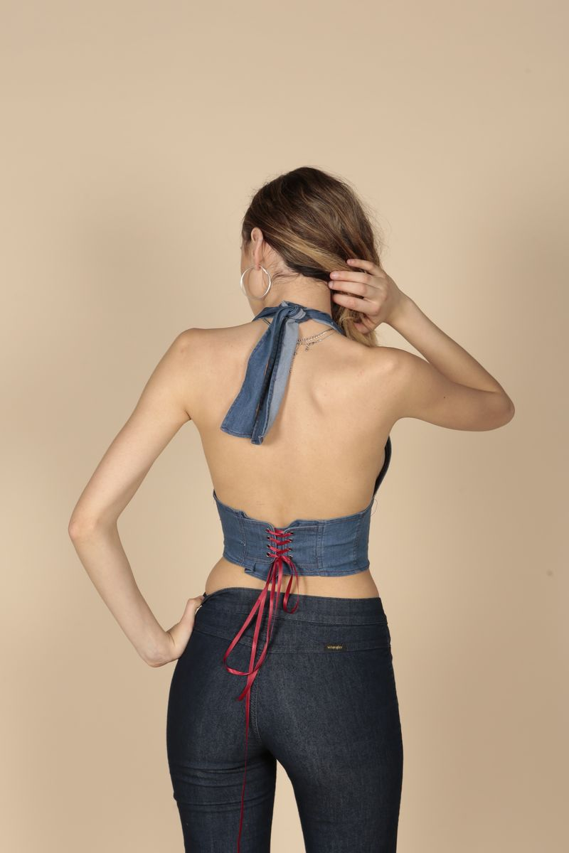Denim Halter  - product images  of