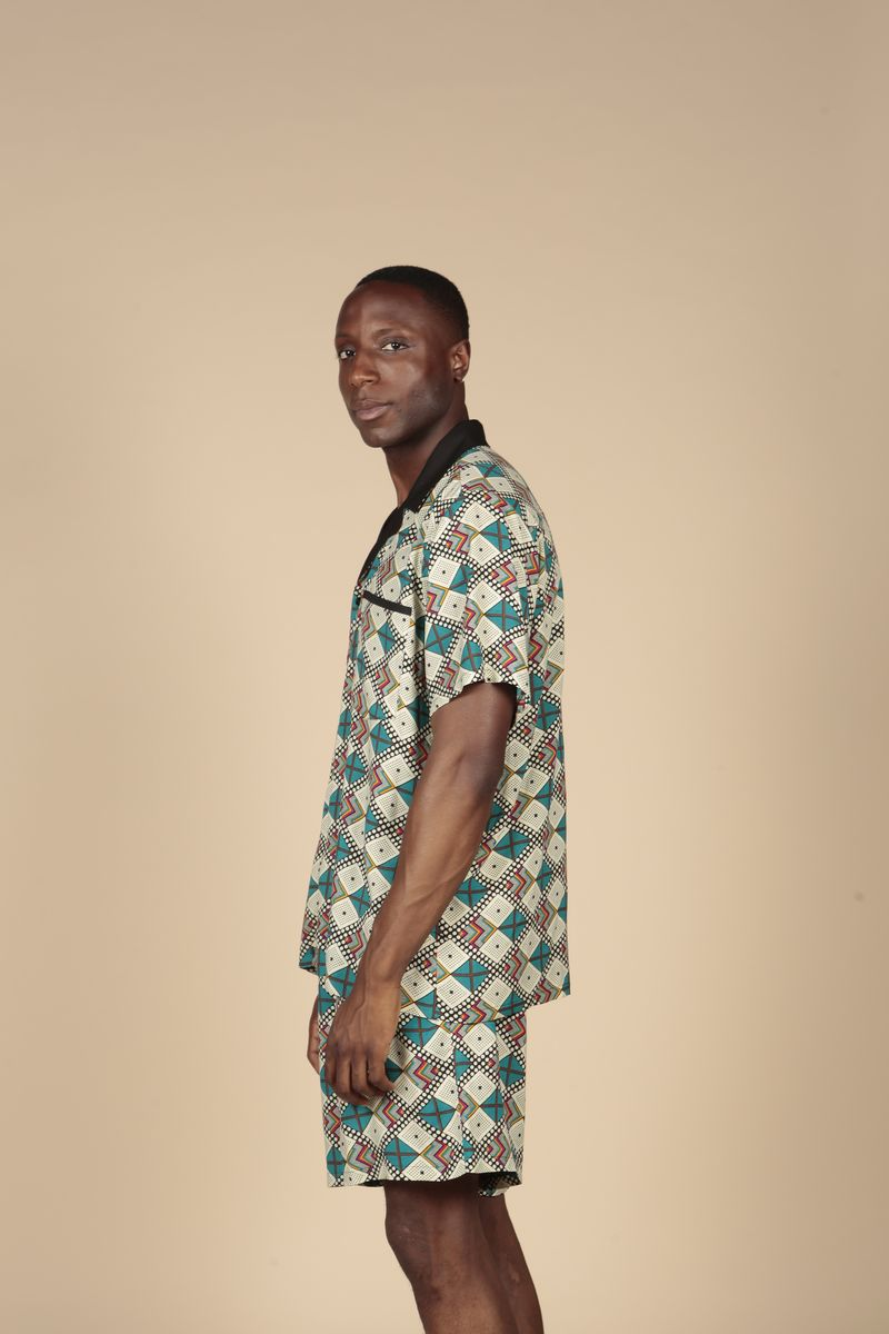 Blue Diamond Aztec Shirt  - product images  of