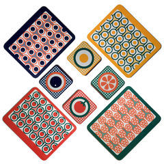 coaster & placemat set - 4 sets - product images 2 of 6