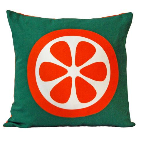 Screen,printed,cushion,cover,-,Orange,screen printed cushion cover, orange print, orange cushion, pattern cushion, graphic design, mother's day gift, housewarming gifts, homeware