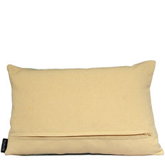 Benedict Blue Large Repeat cushion 30x45cm - product images 2 of 5