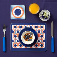 coaster & placemat set - Blueberries - product images 2 of 2