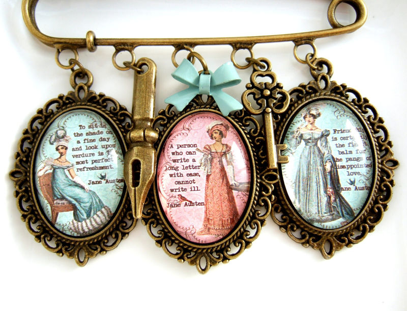 Jane Austen Brooch - product images  of