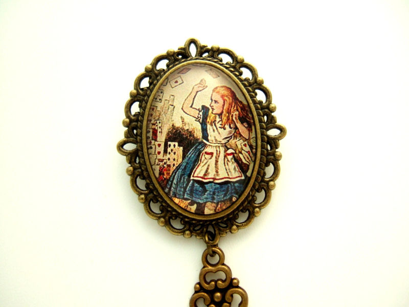 Alice In Wonderland Brooch - product images  of
