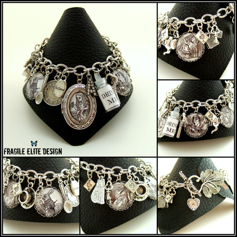 Alice in Wonderland Bracelet - product images  of