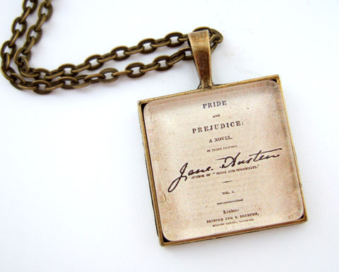 Jane,Austen,Necklace,Literary,Necklace,Book,Lover,Gift,Jewelry,Necklace,jane_austen_jewelry,literary_jewelry,jane_austen_necklace,jane_austen_pendant,book_lover_gift,reader_gift,bibliophile,altered_art_necklace,uk,pride_and_prejudice,literary_gift,gift_for_her,mothers_day_gift