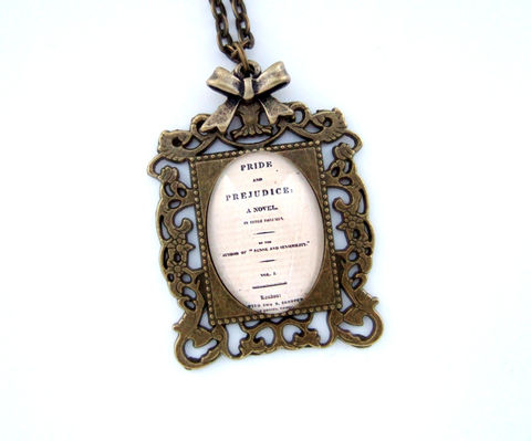 Jane,Austen,Necklace,,Pride,&,Prejudice,Necklace,Jewelry,jane_austen_necklace,jane_austen_jewelry,austen_jewellery,literary_necklace,literary_jewellery,reader_gift,teacher_gift,english_literature,bibliophile_gift,geek_chic,uk,book_lover_gift,gift_for_her