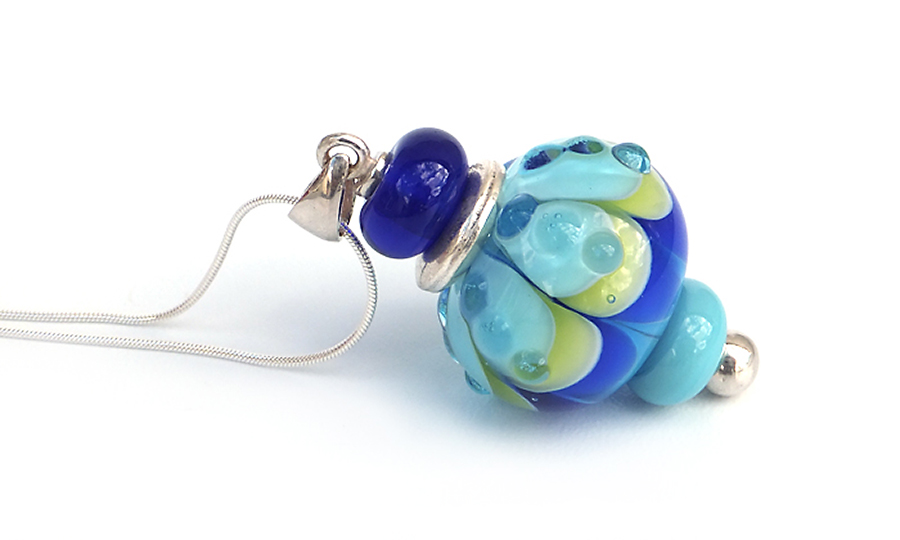 Lampwork Glass Pendant