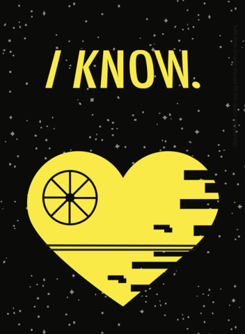 I,Know,Star,Wars,2x3,Magnet,StarWars,hansolo,leia,iknow,Heart,Love