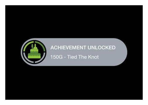 Achievement,Unlocked,Tied,The,Knot,-,Wedding,Geeky,Greeting,geeky greeting,Xbox,achievement,wedding,card