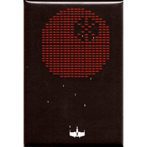Sith,InVaders,2x3,Magnet,geek,Invader,Nerd,sith,gamer,atari,Death Star,xwing
