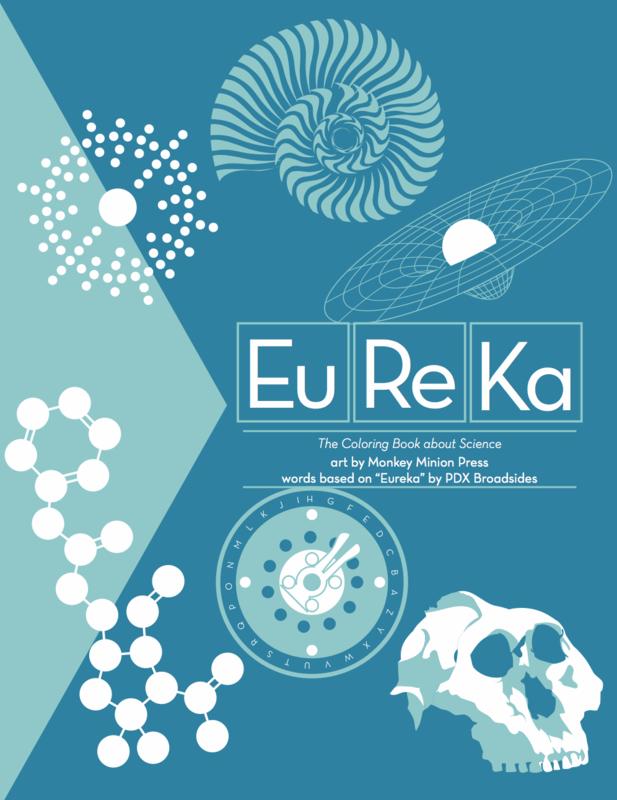 Eureka Science Coloring Book - Monkey Minion Press
