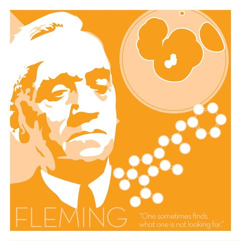 Alexander,Fleming,-,Eureka,Giclee,print,giclee, print, science, einstein, albert einstein, relativity, e=mc2, vector art