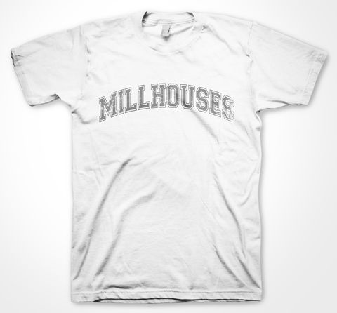 Millhouses,Yorkshire Tee Designs, Sheffield Districts, Tees, millhouses, dtg, printing