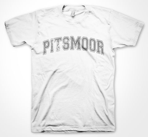 Pitsmoor,Yorkshire Tee Designs, Sheffield Districts, Tees, dtg, pritning, pitsmoor