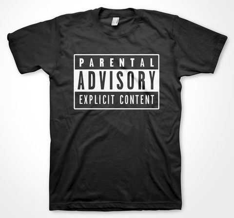 Parental,Advisory,t-shirts, tees, yorkshiretee, sheffield, yorkshire, southyorkshire, dtg, printing, parents, presents, christmas,