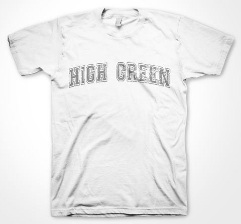 High,Green,Yorkshire Tee Designs, Sheffield Districts, Tees