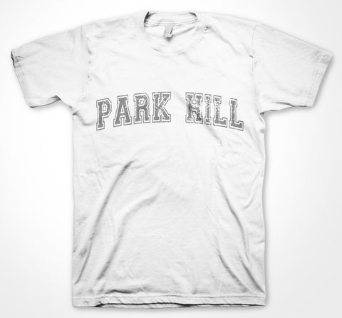 Park,Hill,Yorkshire Tee Designs, Sheffield Districts, Tees