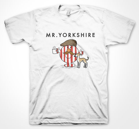 Red,Mr,Yorkshire,Tee, Tshirt, sheffield, yorkshiretee, yorkshire, dtg, vinyl, sheffield wednesday, sheffield united, mr men, football