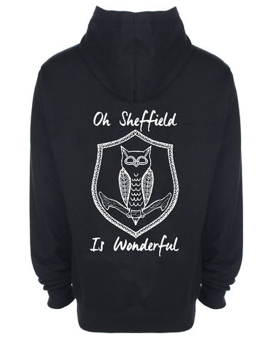 Oh,Sheffield,Hood,tshirt, tee, yorkshiretee, sheffield, accent, sayings, yorkshire, dtg, printing, sheffield wednesday