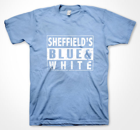BLUE,N,WHITE,tee, tshirt, yorkshiretee, yorkshire, sheffield, dtg, wednesday, football, club, ground, team, support, crowd, merchandise, wawaw