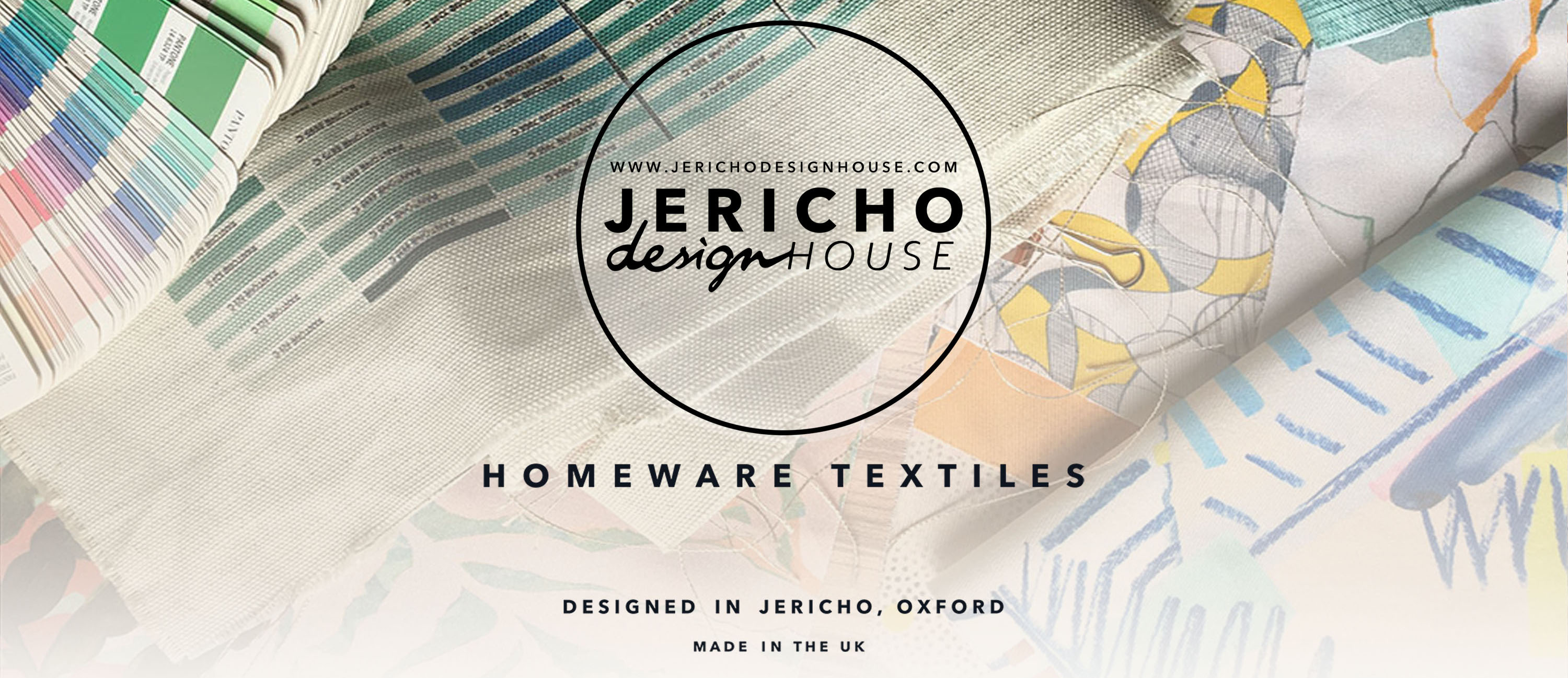 Jericho Design House Oxford Homeware Textiles Fabrics Prints Designed in Jericho Made in the UK