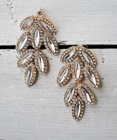 Crying,Leaf,Chandelier,Earrings,rhinestone, anthropologie, earrings, j.crew, chandelier, leaf