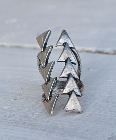 Arrow,Stacked,Ring,triangle, ring, arrow ring