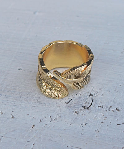 Leaf,Ring,gold, ring, leaf