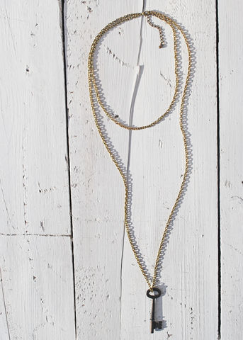 Vintage,Key,vintage, key, necklace, rustic
