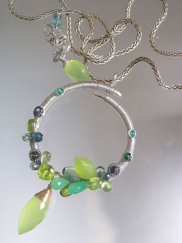 Sterling,Circle,Pendant,Wire,Wrapped,with,Lime,Chalcedony,,Green,Chyrsoprase,,Blue,Sapphire,,Jewelry,Necklace,Sterling_pendant,circle_pendant,gemstone_pendant,chrysoprase_pendant,wire_wrap_pendant,bellajewels,silver_ring_necklace,nature_pendant,original_pendant,Sterling_Circle,Lime_Chalcedony,Green_Chyrsoprase,Blue_Sapphire_Circle,argentium,silve