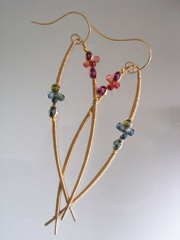 Long,Minimalist,14k,Gold,Filled,Wire,Wrapped,Earrings,with,Tourmaline,,Ruby,,Apatite,,Sapphires,,Elongated,Almond,Shaped,Jewelry,bellajewels,Minimalist_Earrings,Original_Design,Wire_Earrings,Distinctive_Earrings,Wrapped_Earrings,Gold_Filled_Earrings,Long_Dangles,Gemstone_Dangles,Sapphire_Earrings,Fuchsia_Dangles,Shapely_Dangles,Almond_gold_earrings,14k gold filled
