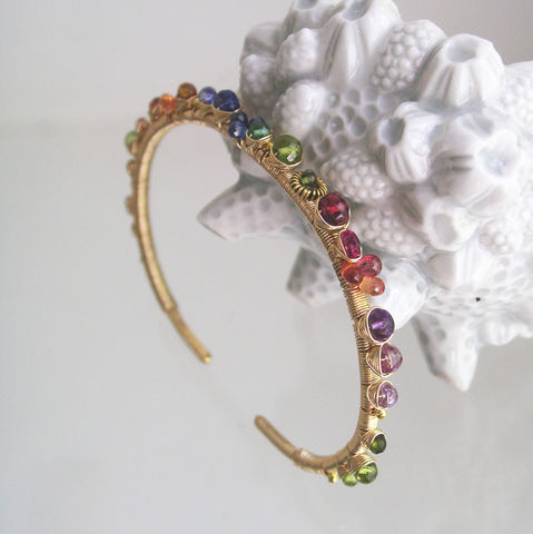 Rainbow,Gemstone,14k,Gold,Filled,Cuff,,Wire,Wrapped,Stackable,Bracelet,with,Sapphire,,Tanzanite,,Red,Spinel,,Tsavorite,,Tourmaline,Jewelry,Deep_Rainbow_Cuff,Gemstone_Cuff,Original_Design,Gold_Filled_Wire,Wrapped_Bracelet,Sapphire_Gold_Cuff,Tanzanite_Bracelet,Red_Spinel_Gold_Cuff,Signature_Cuff,Stackable_Cuff,Bellajewels,Rainbow_Gem_Cuff,Gold_Filled_Cuff,14k gold filled wire