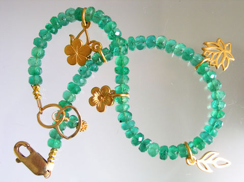 Emerald,Beaded,Meditative,Nature,Bracelet,with,14k,Gold,Filled,Charms,,Lily,,Lotus,,Leaf,,Jewelry,Signature_Bracelet,Emerald_Bracelet,Gold_Filled_Bracelet,Charm_Bracelet,Beaded_Bracelet,Precious_Gemstone,Lily_Charm_Bracelet,Lotus_Charm_Bracelet,Leaves_Bracelet,Original_Design,bellajewels,green_bracelet,green_gem_bracelet,14k gold fill