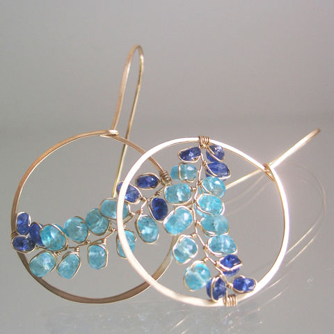 Ocean,Gemstone,Hoops,,Turquoise,Apatite,Earrings,,Cobalt,Blue,Kyanite,Dangles,,Wire,Wrapped,Vines,Jewelry,Earrings,Ocean_Gemstone_Hoops,Wire_Wrapped_Vines,Original_Design,Signature_Hoops,Turquoise_Apatite,Turquoise_Earrings,Cobalt_Blue_Dangles,Kyanite_Dangles,Bellajewels,Blue_Gem_Gold_Hoops,Bella_Jewels,Sky_Colors,Apatite_Gold_Hoops,14k gold filled wi