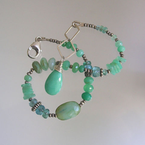 Green,Chrysoprase,Beaded,Bracelet,,Sterling,Silver,Layering,Peruvian,Opal,,Apatite,,Skinny,Jewels,Jewelry,Bracelet,Green_Chrysoprase,Beaded_Bracelet,Peruvian_Opal,Skinny_Jewels,Original_Design,Signature_Bracelet,Sterling_Silver,Layering_Bracelet,Bellajewels,Green_Bracelet,Apatite_Bracelet,Bella_Jewels,Chrysoprase_Bracelet,chyrsoprase,apatite,Peruvian